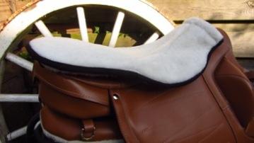 Wool seat saver